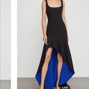 BCBG Asymmetric flare gown